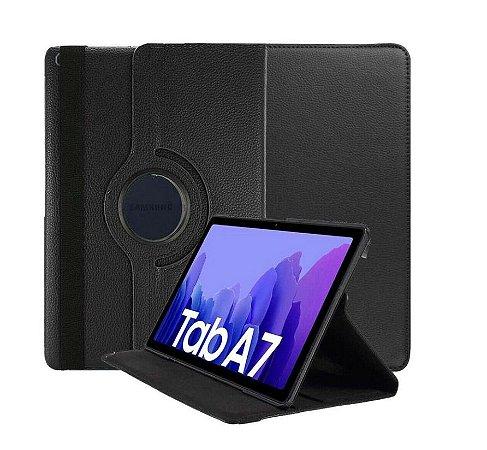 Capa Case Giratoria e Película para novo Samsung Galaxy Tab A7 10.4 - T500 / T505