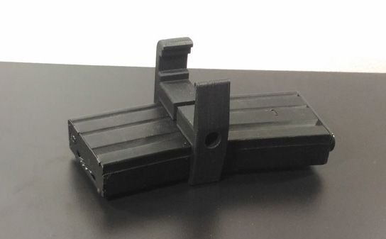 DUAL MAGAZINE CLIP MAG M4/M16 - AIRSOFT