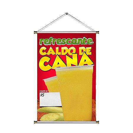Banner de Caldo de Cana - 60x90cm