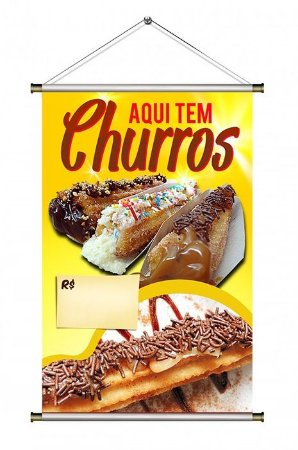 Banner de Churros - 60x90cm