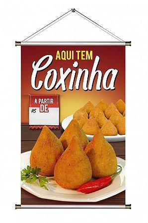 Banner de Coxinha - Modelo 2 - - 60x90cm