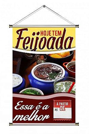 Banner de Feijoada - 60x90cm