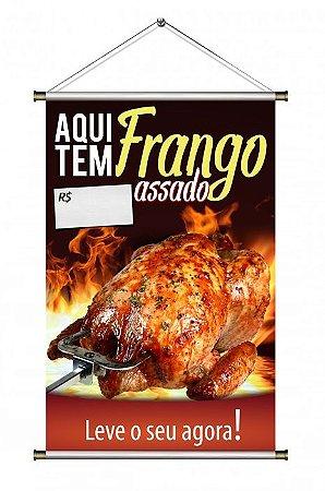 Banner de Frango Assado - 60x90cm