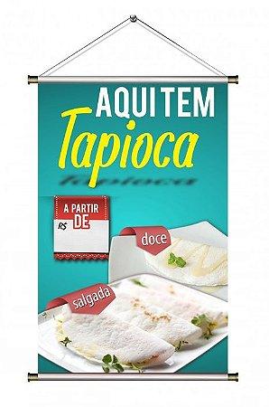 Banner de Tapioca - 60x90cm