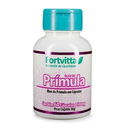 Óleo de Prímula - Regulador de Hormônios com 60 cápsulas - Fortvitta