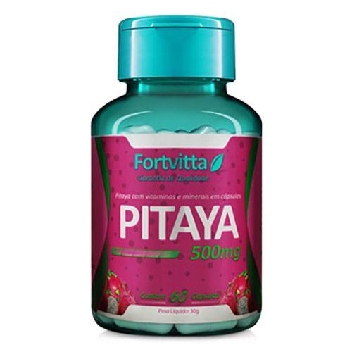 Pitaya - Auxilia imunidade e emagrecimento - 60 cápsulas Fortvitta