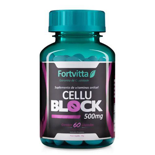 Cellu Block Anticelulite - 60 cápsulas - Fortvitta