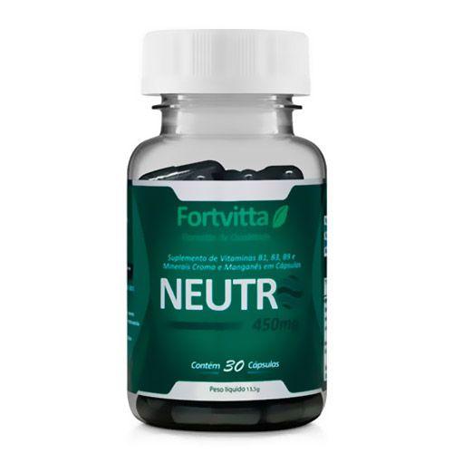 Neutro Bloqueador de Odores 30 cápsulas Fonte de Vitaminas Fortvitta