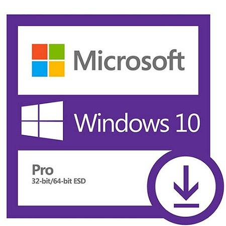 Licença Microsoft Windows 10 Professional 64 Bits Esd - Mídia Digital