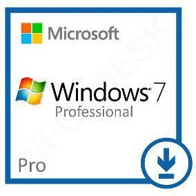 Licença Microsoft Windows 7 Professional 32-64BIT Esd - Mídia Digital