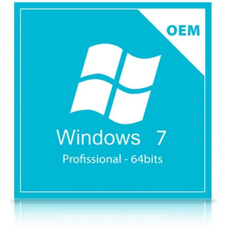 Licença Microsoft Windows 7 Professional 64-bits Português-Oem