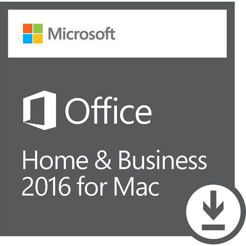 Licença Microsoft Office Home Business 2016 p/ Mac 64 bits Esd- Digital Download