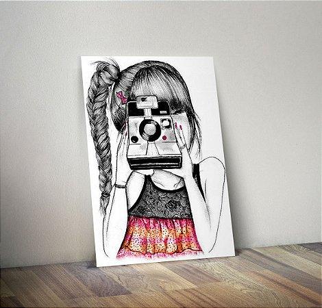 Plaquinha Decorativa - Menina