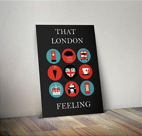 Plaquinha Decorativa - Londres