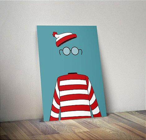 Plaquinha Decorativa - Wally
