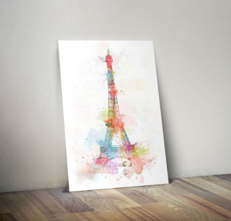 Plaquinha Decorativa - Paris Torre Eiffel