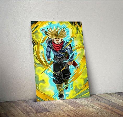 Plaquinha Decorativa - Dragon Ball Trunks