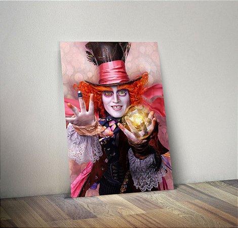 Plaquinha Decorativa - Princesas Chapeleiro