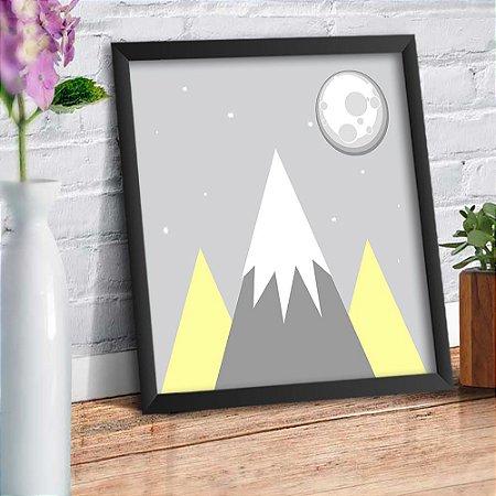 Quadro Decorativo Decoração Infantil Montanha