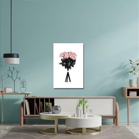 Quadro Decorativo Decoração Flores