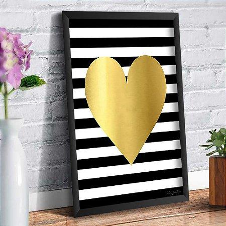 Quadro Decorativo Decoração Coração