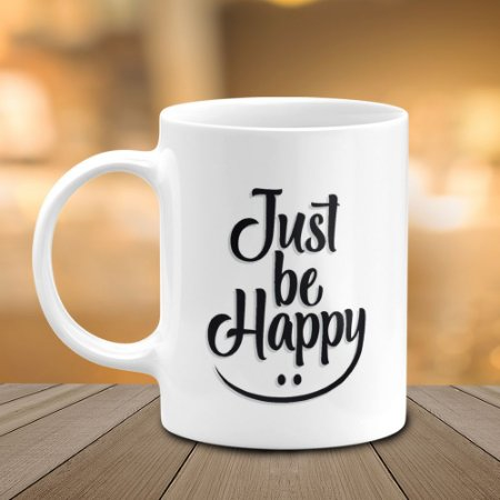 Caneca Just be Happy