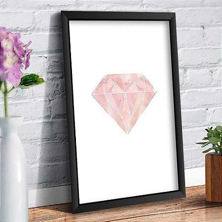Quadro Decorativo Decoração Diamante