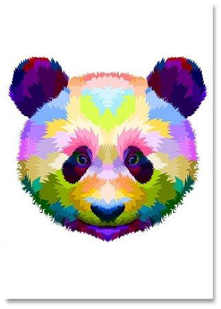 Quadro Decorativo Decoração Panda