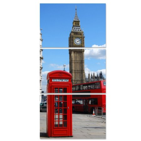 Conjunto Quadros Decorativos Londres