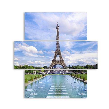 Conjunto Quadros Decorativos Paris