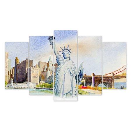 Conjunto Quadros Decorativos Nova York