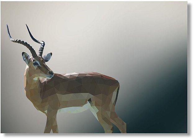 Quadro Decorativo Decoração Gazela