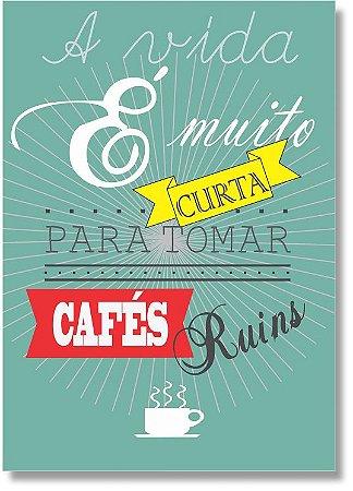 Quadro Decorativo Decoração Café