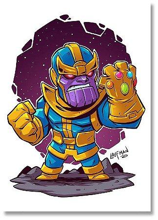 Quadro Decorativo Decoração Thanos