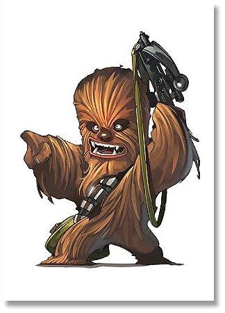 Quadro Decorativo Decoração Chewbacca
