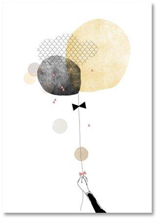 Quadro Decorativo Decoração Balões