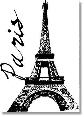 Quadro Decorativo Decoração Paris