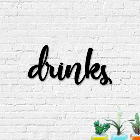 Palavra de Parede Drinks