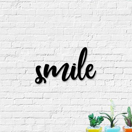 Palavra de Parede Smile