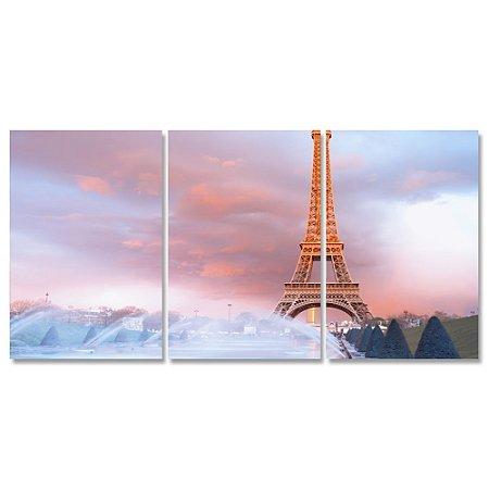 Kit Quadros Decorativos Paris