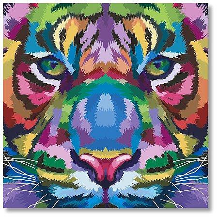 Quadro Decorativo Tigre