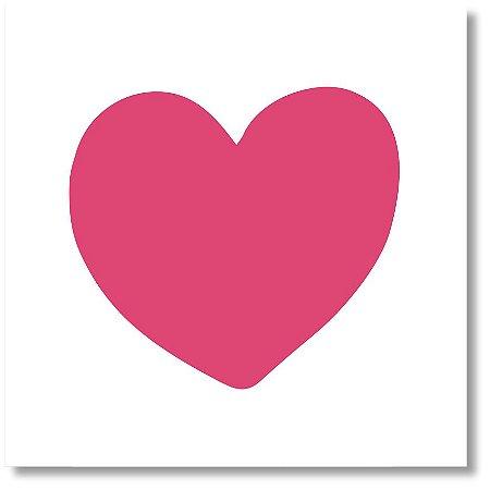 Quadro Decorativo Coração