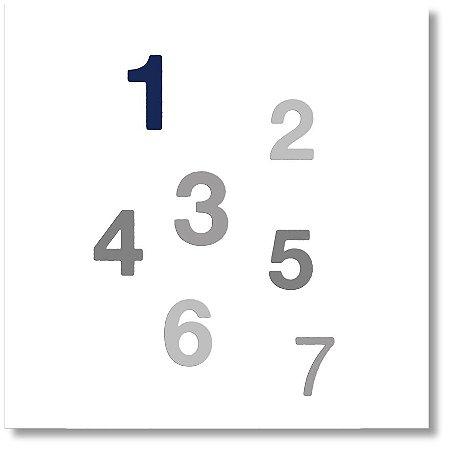 Quadro Decorativo Números