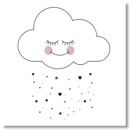 Quadro Decorativo Nuvem