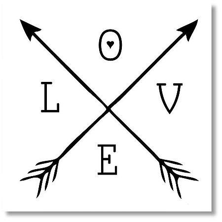Quadro Decorativo Love