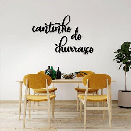 Palavra de Parede Cantinho do Churrasco