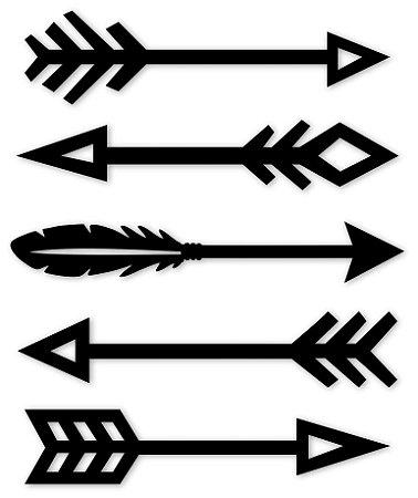 Aplique de Parede Conjunto de Flechas