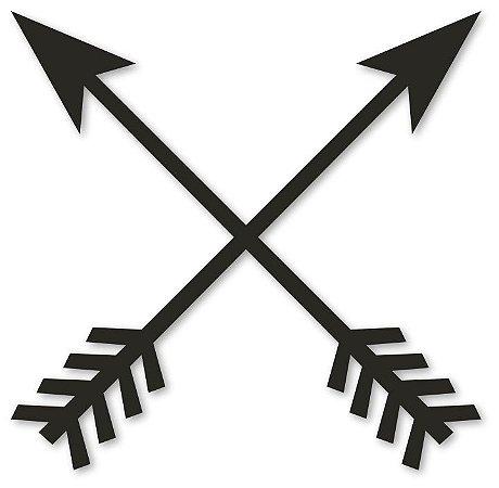 Aplique de Parede Flechas Cruzadas