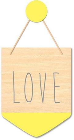 Flâmula Love + Ganchinho Brinde