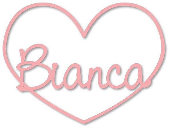 Nome Personalizado Coração